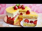 """Торт """"ФРЕЗЬЕ"""" (Fraisier)- французский популярный десерт, безумно вкусный!"""