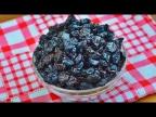 Сушеная (вяленая) вишня в духовке для выпечки булочек, куличей