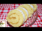 Вкуснейший бисквитно-яблочный рулет за 20 минут!