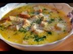 Сырный суп с колбасой