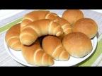 """Легендарные """"Кунцевские булочки-рогалики"""" по ГОСТу/Bread rolls, bagels."""
