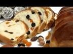 Ночное сдобное тесто. Рождественский хлеб /Overnight pastry, Christmas bread