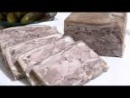 Натуральная мясная закуска Домашний сальтисон /Meat appetizer.