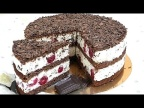 Лёгкий ДЕСЕРТ ЧЕРРИ Торт - пирожные (Вишня) /Cherry cake