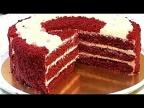 Торт КРАСНЫЙ БАРХАТ. Эффектный, нежный и очень вкусный. /Cake RED VELVET