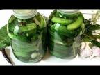 САМЫЙ ПРОСТОЙ способ засолки огурцов на зиму. КВАШЕНЫЕ ОГУРЦЫ /Salted cucumbers