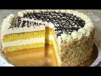 """Торт """" ГОМЕЛЬЧАНКА"""" нежный торт - суфле. Коллекция советских рецептов, /Cake Gomelchanka"""