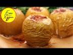 Ешь и Худей! Запеченные Яблоки с Творогом, Орехами и Корицей. Идеальный Десерт ПП