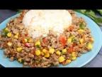 Рис по-турецки с мясом и овощами