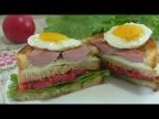 Горячие Бутерброды На Сковороде С Куриный Яйцом