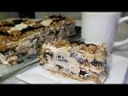 Торт Без Выпечки с черносливом и орехами