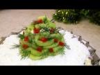 Вкусный Слоёный салат с курицей карри