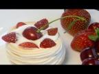 Летний Десерт с Ягодами Воздушный, Легкий Летний Десерт