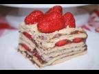 Торт Без Выпечки Нежный и Вкусный. Торт из Печенья с Кремом