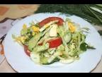 Салат из Молодой Капусты за 10 минут, который заменит Вам ужин