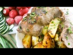 Как Правильно Пожарить Мясо. Жарим Свинину на Сковороде с Картофелем