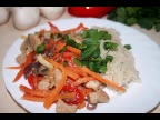 Быстрый Ужин. Рис с Овощами и Филе в мультиварке. ПП