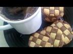 Печенье Шахматное Простой рецепт сахарного песочного печенья