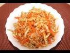 Маринованная капуста по корейски. Салат из капусты и моркови. Pickled cabbage