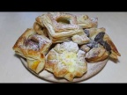 Как сделать красивые слойки, пирожки? Формирование слоек