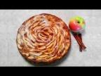 Шарлотка с яблоками без миксера, быстро и вкусно