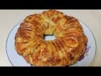 Необычный пирог с мясом и сыром. Самый вкусный пирог с мясом