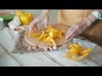 Куриные крылышки с сырным соусом [Рецепты Bon Appetit]