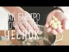 Как быстро почистить чеснок   How to peel a garlic clove [Рецепты Bon Appetit]