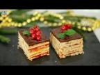 """Пирожное """"Жербо"""" - венгерское лакомство. Простой и быстрый рецепт вкуснейшего десерта."""