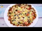 Мясная пицца для НАСТОЯЩИХ МУЖЧИН. Рецепт пиццы без теста.