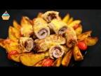 Праздничные Мясные РУЛЕТИКИ с грибами и черносливом - ну, оОчень вкусные!