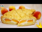 ТЕРТЫЙ ПИРОГ/КОРОЛЕВСКАЯ ВАТРУШКА с абрикосами!/ GRATED PIE ROYAL CURD PATTY WITH APRICOTS