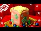Новогодний Торт Свеча (мини-версия)