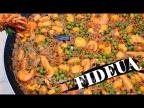 ФИДЕУА/Fideuá. Жареная вермишель с морепродуктами.(мини-версия)