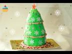 """Ну, оОчень вкусный - Новогодний Торт """"Елка""""!"""