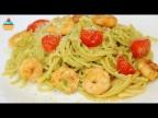 Ну, оОчень вкусное - Спагетти с Авокадо и Креветками!