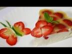 Ну, оОчень вкусный - Десерт из Творога с Клубникой!