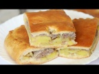 Ну, оОчень вкусный - Пирог с мясным фаршем и картошкой!