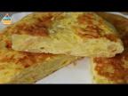"""Ну, оОчень вкусный - Омлет с Картофелем """"Tortilla de Patata""""."""