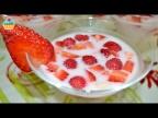 Ну, оОчень вкусный Десерт - Йогуртовое Желе с Ягодами!