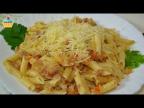 Макароны по-испански с тунцом - Pasta con atún!