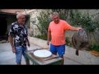 Как ловят и жарят рыбу в Одессе. Камбала, луфарь, сарган, бычок