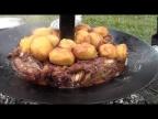 Казан-кебаб из телятины. Кофе на углях. ENG SUB. Kazan-kebab. How to cook veal