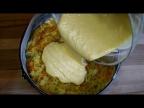 Вместо ПИРОЖКОВ с капустой. ЛЕНИВЫЙ пирог с луком и морковью, рецепт теста на сметане.