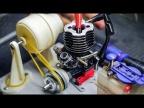 🌡 Система Охлаждения Нитро Движка на Ременной передаче