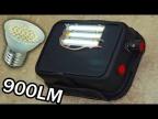 Сделай сам | Регулируемый Мини Прожектор 9Вт 900лм