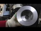 Литье алюминия и разборная форма для шкива