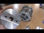 Оправка для ножа на двигатель от стиральной машины.
