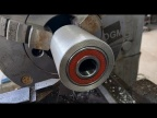 Как сделать ролик для гриндера с одной установки