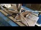 Как просверлить рессору толщиной 20 мм